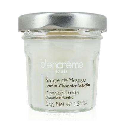 BOUGIE MASSAGE CHOCOLAT NOISETTE BLANCREME - Pot 35g