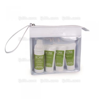 Travel-Kit BIOPURE T968 Ericson Laboratoire comprenant T969 Phyt'Oxygen 40ml - T970 Detox Gum 20ml - T971 Hydra Soft 20ml - T972 Hydra Matt 20ml - 4 miniatures