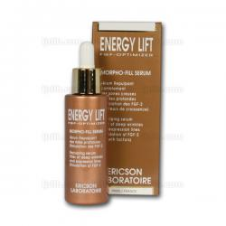 Sérum Morpho Fill Sérum ENERGY LIFT E558 Ericson Laboratoire - Sérum repulpant de l'ovale - Flacon 30ml