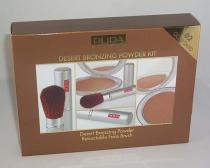 Desert Bronzing Powder Kit Gold Sand 02 Pupa - 1 Coffret Poudre † 1 Face Brush Retractable