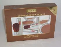 Desert Bronzing Powder Kit Desert Bronze 03 Pupa - 1 Coffret Poudre † 1 Face Brush Retractable