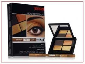 Gold Obsession Kit 4EYES Pupa n° 27 - 4 Palettes † 1 Crayon † 1 kajal † 1 Fard