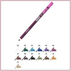 MULTIPLAY - Eye Pencil with Shading Sponge Crazy Purple 06 Pupa