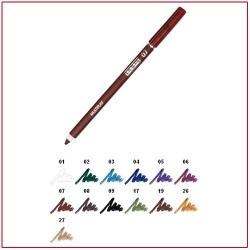MULTIPLAY - Eye Pencil with Shading Sponge African Brown 07 Pupa