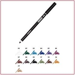 MULTIPLAY - Eye Pencil with Shading Sponge Deep Black 09 Pupa