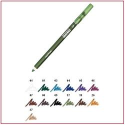 MULTIPLAY - Eye Pencil with Shading Sponge Elm Green 17 Pupa