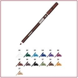 MULTIPLAY - Eye Pencil with Shading Sponge Dark Earth 19 Pupa