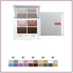 4EYES - Compact Eye Shadow Four Brown 03 Pupa