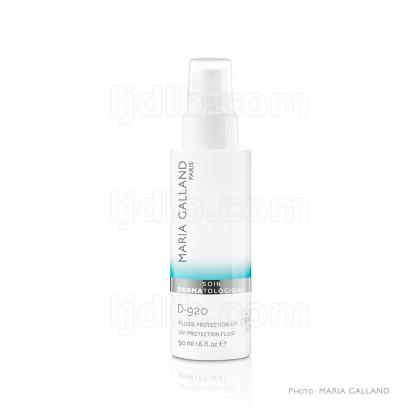 Fluide Protection UV - SPF 30 D-920 Maria Galland - Ligne Soin Dermatologique - Flacon 50ml