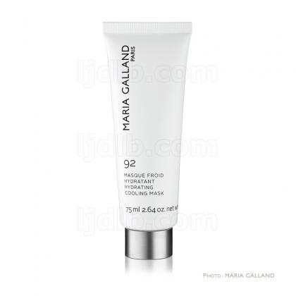 Masque Froid Hydratant 92 Maria Galland - Ligne Hydratation - Tube 75ml