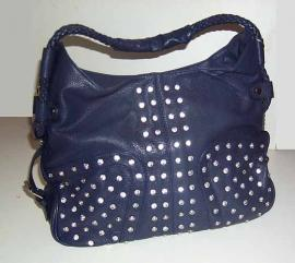 Sac Fashion Motif Brillants - Couleur Bleue