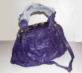 Sac Fashion Motif Croco - Couleur Purple